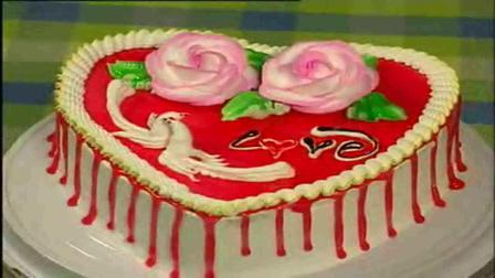 西点制作 蛋糕裱花 蓝莓蛋糕