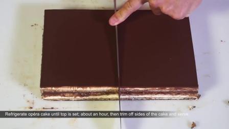咖啡剧本蛋糕丨Opera Cake Recipe – Bruno Albouze – THE REAL DEAL