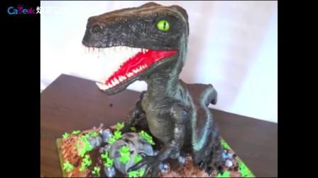 焙友之家丨逼真恐龙蛋糕2