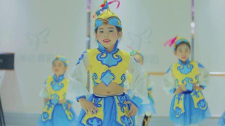 少儿中国舞初级班学员展示 长沙少儿舞蹈培训班
