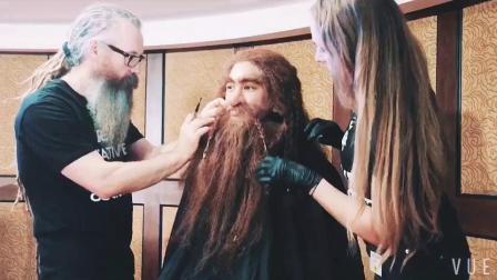 维塔工作室特效化妆师现场演示特效化妆