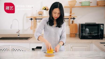 [烘焙食谱] 香橙奶油蛋糕 │ 展艺烘焙