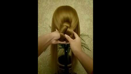 儿童气质栗子头发型儿童刘海高贵个性教学中长发