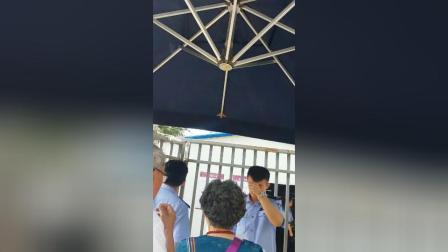南京市六合区冶山铁矿工人到最高人民医院第三巡回法庭讨说法2