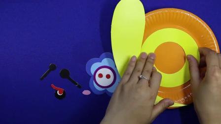 爱乐家园 亲子游戏 儿童智力手工蜗牛贴画