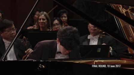 丹尼尔· 许 (美国) 在范克莱本国际钢琴比赛决赛演奏柴科夫斯基 - 《降B小调第一钢琴协奏曲》, Op. 23