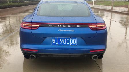 杭州车世界 panamera新款971 ipe排气声浪