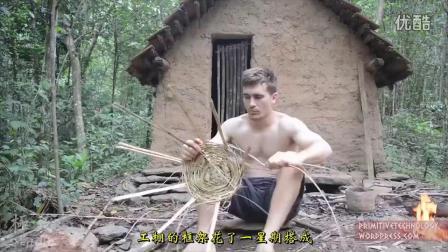 澳洲小哥野外求生(第20集):建造瓦顶工棚_超清