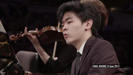 丹尼尔· 许 (美国) 在范克莱本国际钢琴比赛决赛演奏塞扎尔·弗兰克 - 《F小调钢琴五重奏》