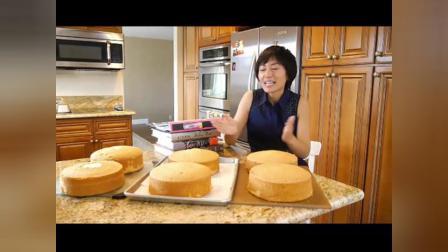 烘焙技术培蓝莓芝士蛋糕 奶油蛋糕的做法