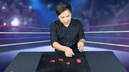 近景硬币变花 中国首席魔术师-飞虎