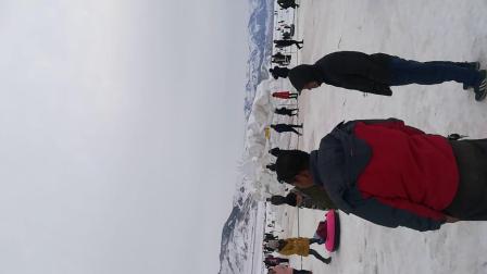 博尔塔拉冬季赛里木湖冬景色、(上传席为江)VID_20180203_172729