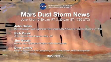 Mars Dust Storm News