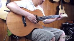 美诗特 raffles 红松枫木 手工吉他评测试听 沁音原声