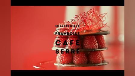 精致甜品制作餐饮美食过程特写镜头水果蛋糕甜点高清视频实拍素材