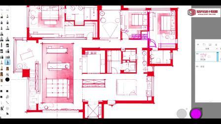 室内设计联盟课程-平面户型优化之別墅类高端客户设计解析