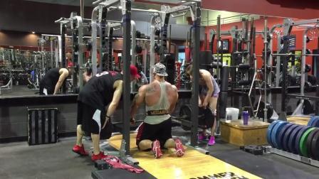 Dallas McCarver备战2015年奥赛赛前7周背部训练