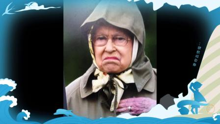 伊丽莎白女王-真行走的表情包,论颜艺女王不会输给任何人_201803130315