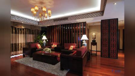 200平中式风格装修,舒适优雅的古典美!
