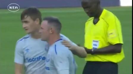 Wayne Rooney amazing goal for Everton