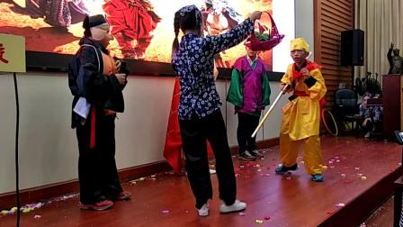 湘潭市江声实验中学1633班英语课本剧《孙悟空三打白骨精》荣获最高成就奖