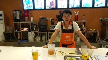 广西奶茶培训金桔柠檬茶