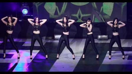 170327 杨平体育馆 韩女团 WANNA.B - Hands Up CBCNEWS媒体视频