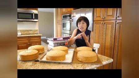 学做蛋糕好学吗 新手抹蛋糕胚视频教程