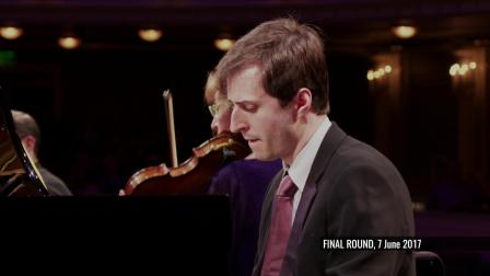 肯尼斯·布罗伯格决赛演奏德沃厦克-《A大调钢琴五重奏》Op.81