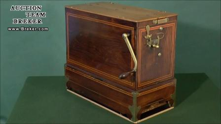 Lot 849 Early Street Barrel Organ, c. 1890 - YouTube
