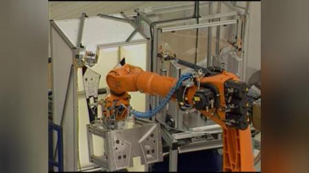 库卡机器人自动化生产线