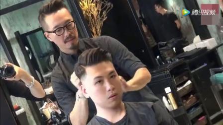 适合脸微胖的男生发型, 拯救你的小圆脸!