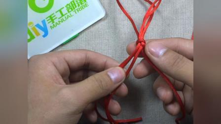 反手结的编法 绳结编织视频教程