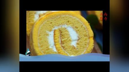 大人小孩都爱吃的虎皮蛋糕卷,制作方法