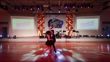 Swingtime Ball 2017 - Newcomer Showcase - Luc & Nancy