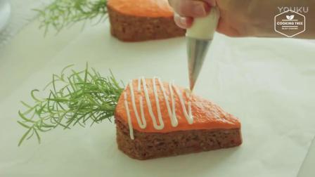 烘焙短期培训用胡萝卜做胡萝卜蛋糕,想吃吗-_高清xv0西点蛋糕