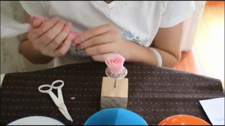 豆沙花蛋糕裱花视频 韩式裱花蛋糕培训 生日蛋糕裱花