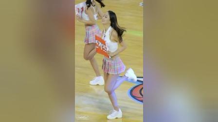 180126 韩国职业篮球联赛 啦啦队美女 윤요안나 热