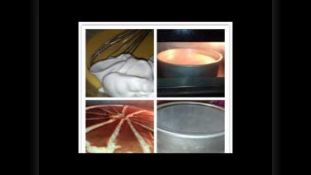 教你制作蛋糕:蜂蜜柠檬戚风蛋糕,健康美味,西点烘焙教程