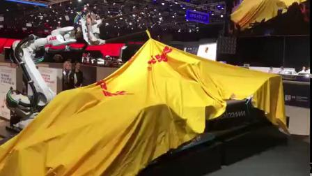 FE电动方程式 | 二代赛车亮相日内瓦国际车展