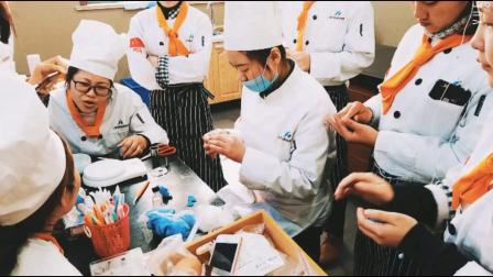 西点中点甜点翻糖培训创业班—上海飞航国际美食学校