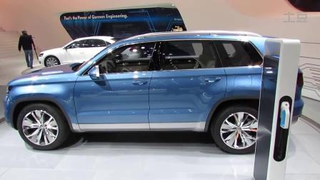 7座混动SUV 大众Cross Blue概念车