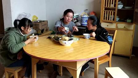 江西省新余市渝水区罗坊镇特产美食农村吃播视频