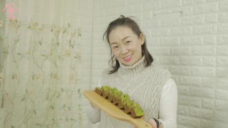 厨娘计划 | 烘培无能也可以翻身的抹茶蜜豆磅蛋糕