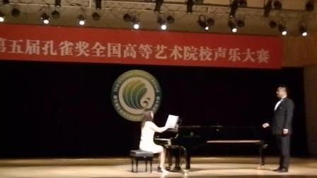 《重回古城》男高音田文升 第五届孔雀奖比赛