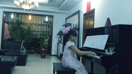 李梓瑶钢琴 解放区的天