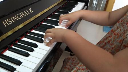 宇航钢琴弹奏《车尔尼599第20条》