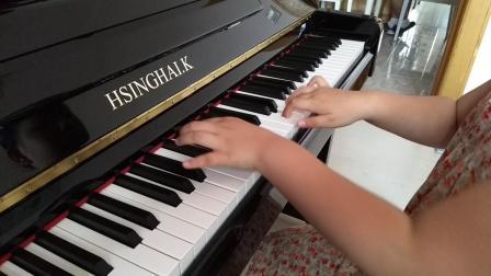 宇航钢琴弹奏《车尔尼599第55条》