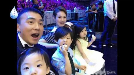 小泡芙爸爸刘畊宏晒大儿子和小女儿照片,兄妹三个宛如复制黏贴!