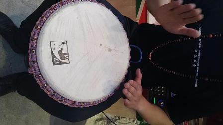 非洲手鼓初级教学丽江神曲《小宝贝》+全曲演示